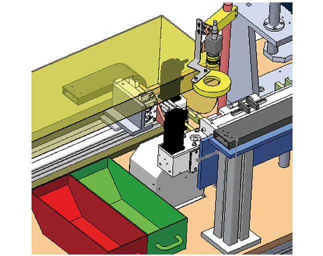 汽车零部件HSD产品外观CCD检测